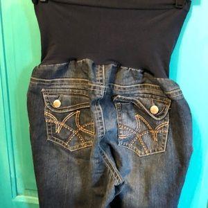 XL maternity shorts by indigo blue